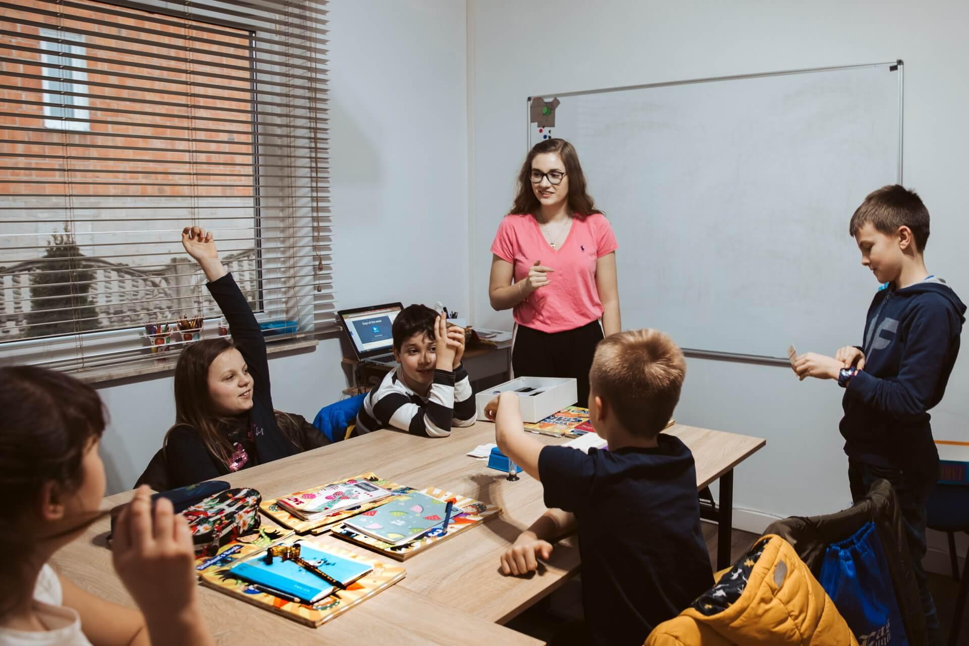 zajęcia z języka angielskiego dla dzieci