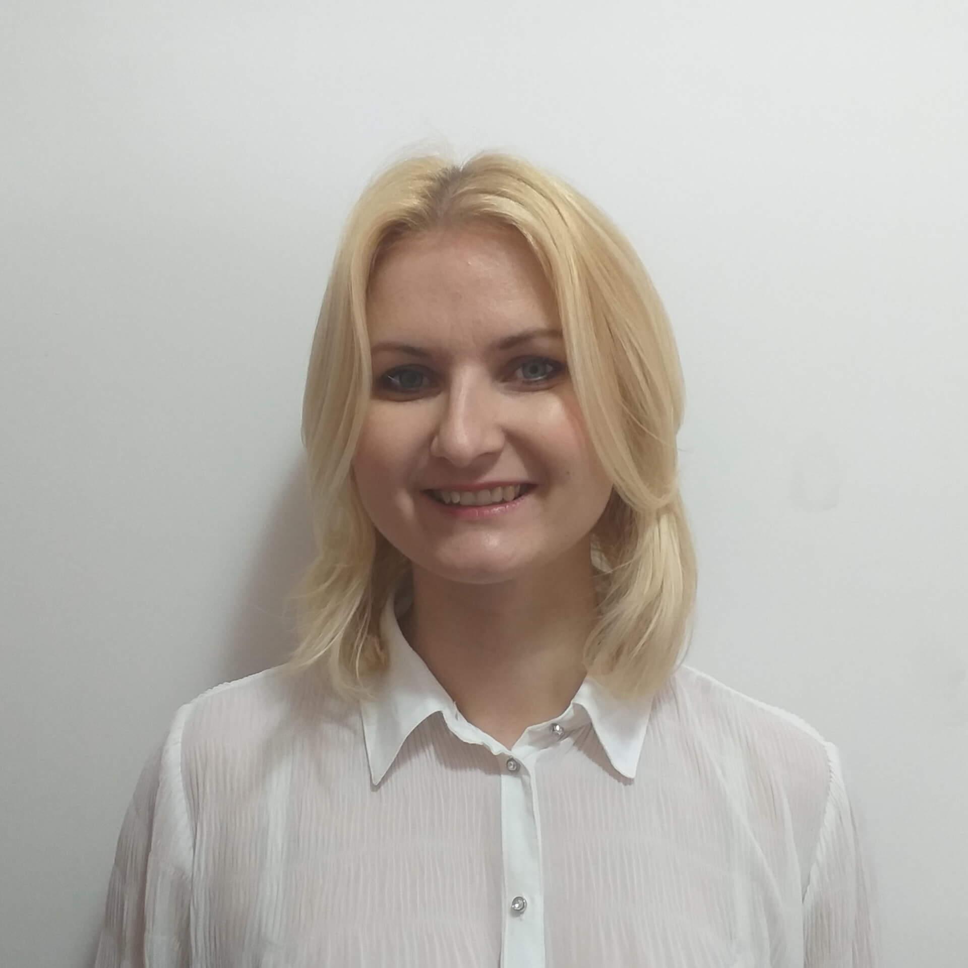 Agnieszka Wisniewska nauczyciel języka angielskiego