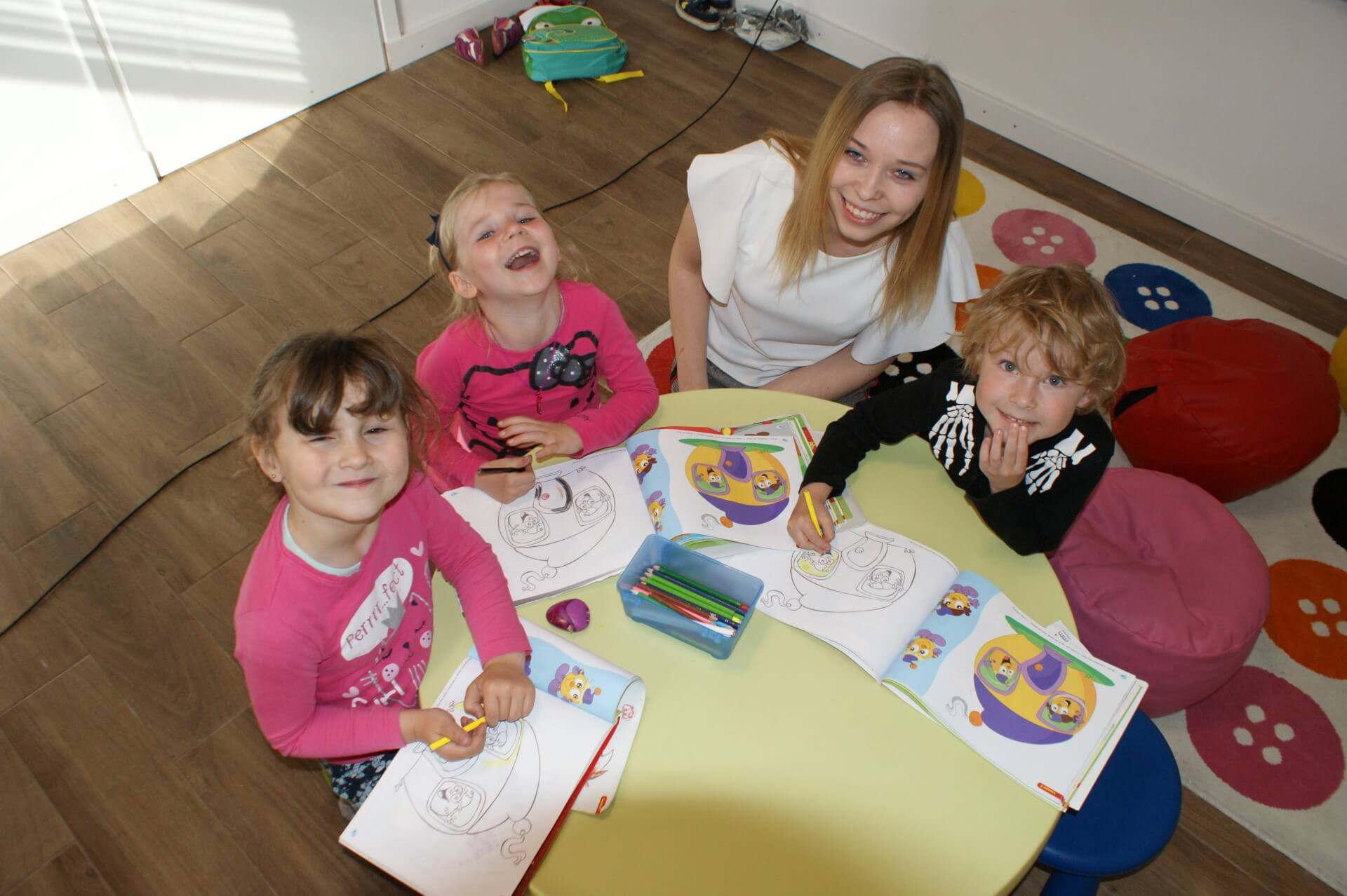zajęcia z języka angielskiego dla przedszkolaków